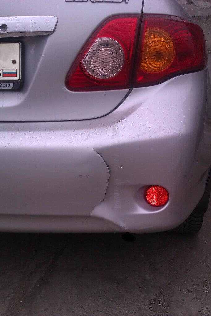 Кузовной ремонт Toyota Corolla в Красноярске