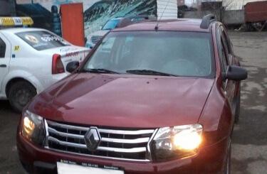 Кузовной ремонт Renault Duster в Новосибирске