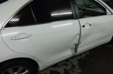 Кузовной ремонт Toyota Camry в Новосибирске