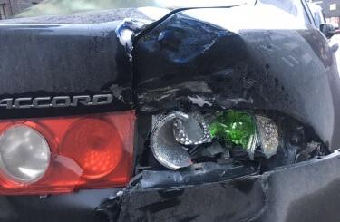 Кузовной ремонт Honda Accord в Новосибирске